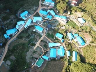 덕포명품마을 항공사진